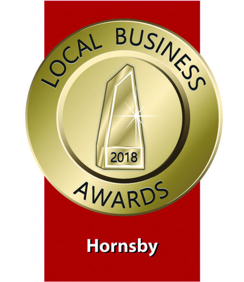2018 Hornsby Local Business Awards logo